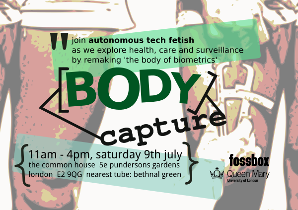 Body Capture flyer