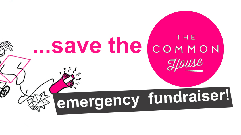 Save the Common House crowd funder banner