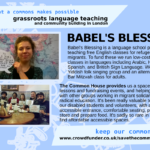 Babel's Blessing - grassroot language teaching and community building in London
