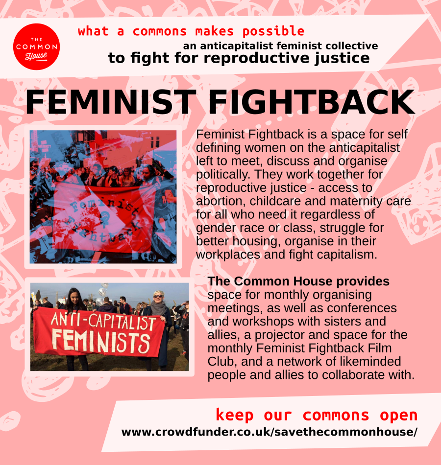 feminist fightback - an anticapitalist feminist collective to fight for reproductive justice