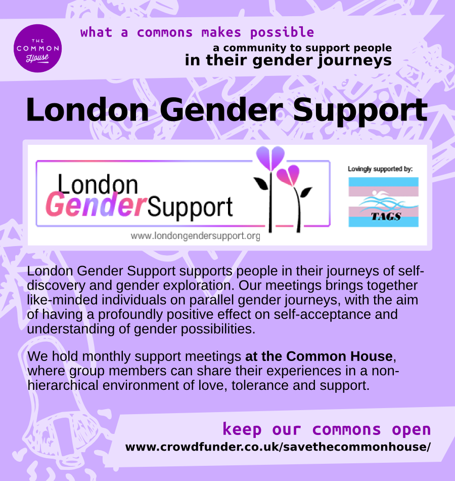 London Gender Support - a community to support people in their gender journeys