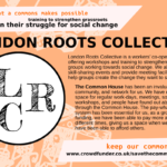 London Roots Collective - training to strenghten grassroots in their struggle for social change