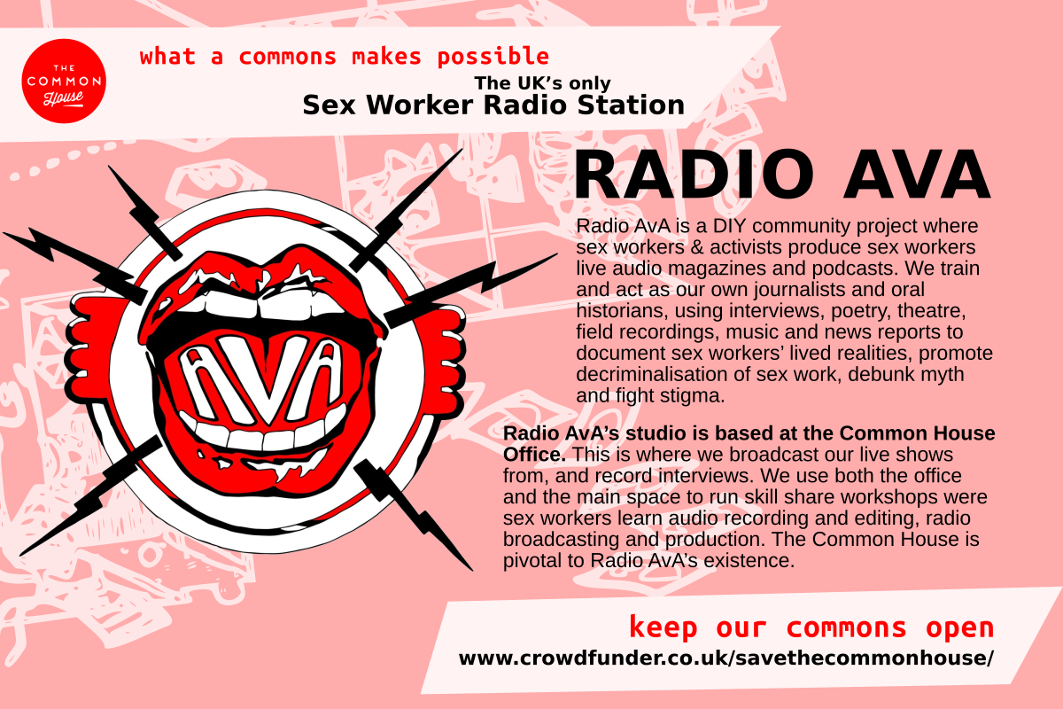 Radio Ava - the UK's only Sex Worker Radio Station