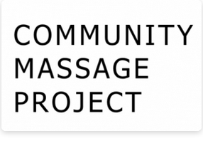 Community Massage Project logo
